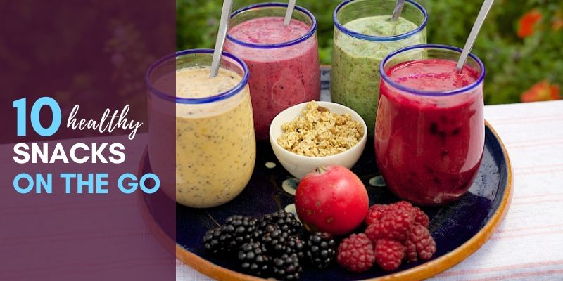 healthy snacks on the go header image successfitness