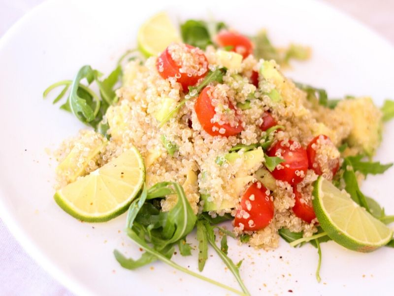 quinoa w veggies | what to eat before and after workout | successfitness.ca